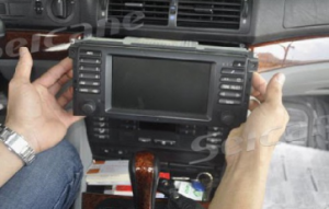 Take original radio out of the car