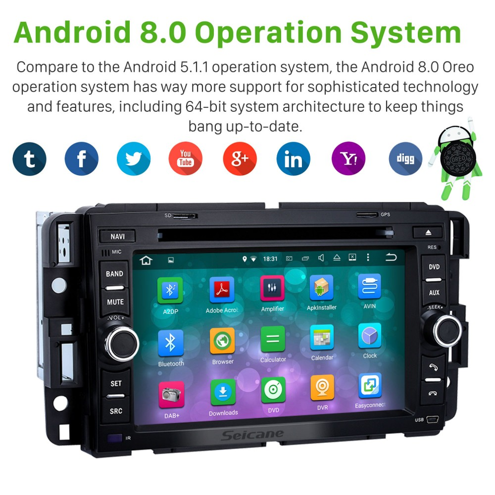 Android 8 0 Touch Screen GPS Navigation System 2007-2011