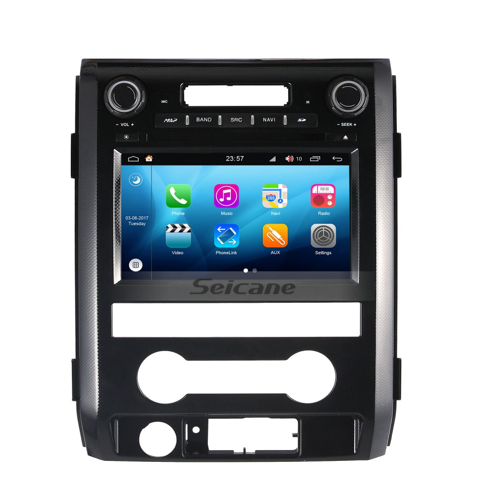 2009 2012 Ford F150 Android 80 Touch Screen Dvd Player Gps