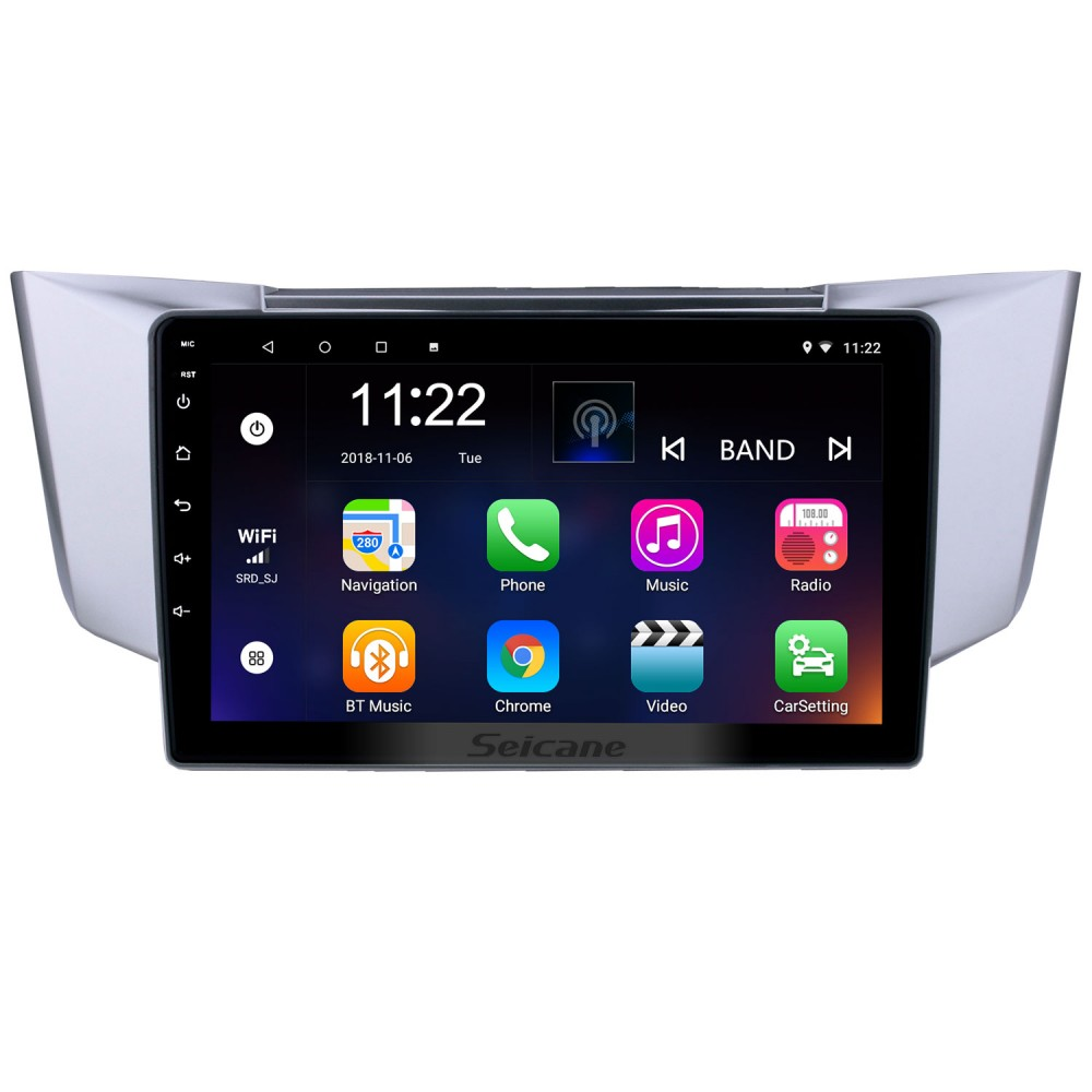 Android 8 1 9 inch HD Touchscreen GPS Navigation Radio for