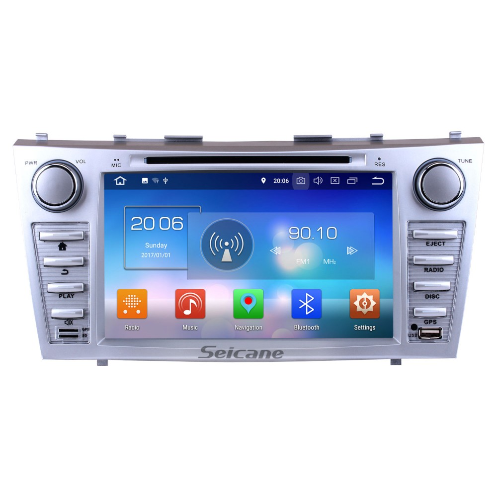 8 Inch Android 8 0 HD Touchscreen Head Unit For 2007 2008