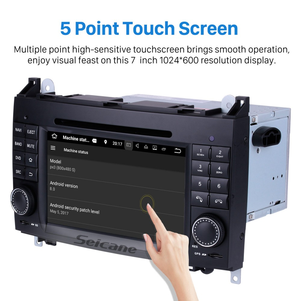 In dash Android 8 0 GPS Navigation system for 2006-2012