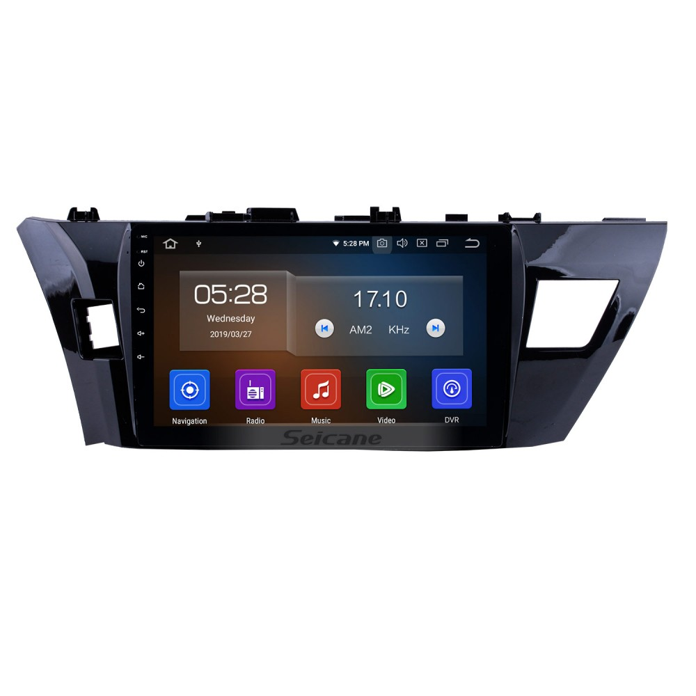 10 1 inch Android 9 0 2013 2014 Toyota Corolla LHD Radio