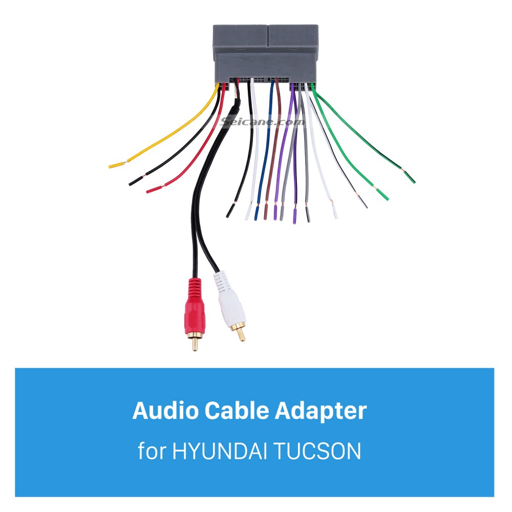 touch audio wiring top audio cable wiring harness plug adapter for hyundai tucson  top audio cable wiring harness plug
