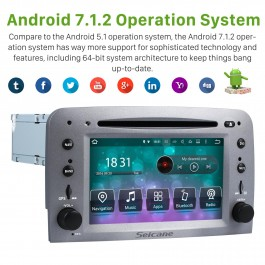 Android 7.1 Alfa Romeo GT DVD player with GPS navigation Radio Bluetooth Ipod