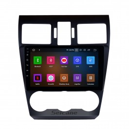 9 inch HD Android 9.0 Radio Capacitive Touch Screen for 2014 2015 2016 Subaru Forester Support 3G WiFi Bluetooth GPS Navigation system TPMS DAB DVR OBD II AUX Headrest Monitor Control Video Rear camera USB SD