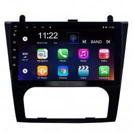Android 8.1 9 inch HD Touchscreen GPS Navigation Radio for 2008-2012 Nissan Teana ALTIMA (MT) Auto A/C with WIFI USB Bluetooth support 3G SWC Rearview Camera OBD DVR