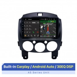 OEM HD Touchscreen GPS navigation system Android 10.0 for 2007-2014 Mazda 2 Support Radio Vedio Carplay Remote Control Bluetooth