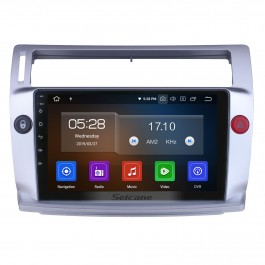 9 inch For 2009 Citroen Old C-Quatre Radio Android 10.0 GPS Navigation System Bluetooth HD Touchscreen Carplay support Digital TV