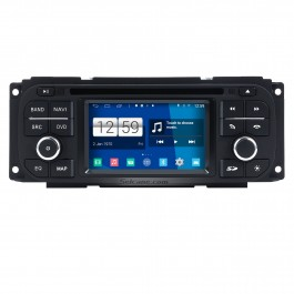 Android 4.4 All-in-one Car Radio GPS DVD Player for 2001 2002 2003 2004 2005 Chrysler Voyager with Bluetooth Music HD 1080P Video AUX DVR WIFI 3G Backup Camera