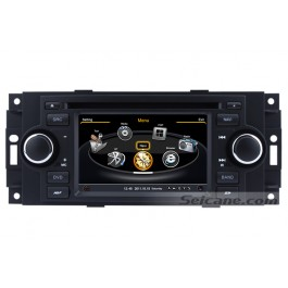In Dash 2005 2006 2007 Chrysler 300C auotradio Multimedia DVD Player GPS Navigation Audio Video System with Bluetooth Radio RDS TV USB SD AUX 3G WiFi