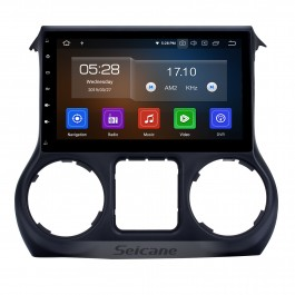 Android 10.0 10.1 Inch Touchscreen Radio For 2011-2017 JEEP Wrangler Bluetooth Music GPS Navigation Built-in Carplay Support DAB+ OBDII USB TPMS WiFi Steering Wheel Control