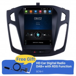 Android 9.1 2012 2013 2014 2015 Ford Focus 9.7 inch HD Touchscreen Car Stereo Radio Head Unit GPS Navigation Bluetooth Support Steering Wheel Control USB WIFI OBD2 Rearview Camera