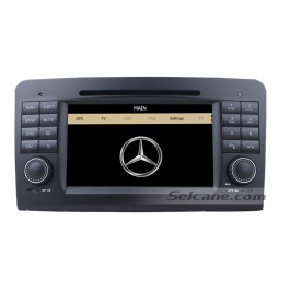 Car dvd player for Benz ML CLASS with GPS Radio TV Bluetooth