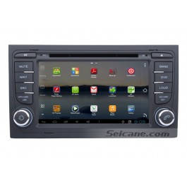 Android 7 Inch Car DVD Player for Audi A4 (Touchscreen,GPS,TV,Ipod, 3G,Wifi)