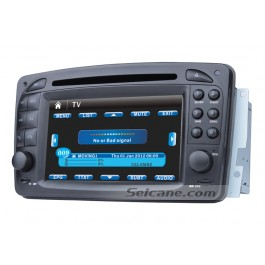 Car DVD player for Mercedes-Benz C-Class W203 with GPS Radio TV Bluetooth Ipod Touch Screen