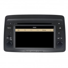 Fiat Panda DVD player with GPS navigation Radio Bluetooth Ipod