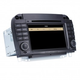 Car DVD player for Mercedes-Benz S-W220 with GPS Radio TV Bluetooth