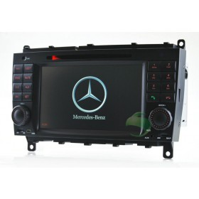 7 inch Car DVD player for Mercedes-Benz CLS W219 with gps radio tv bluetooth-6