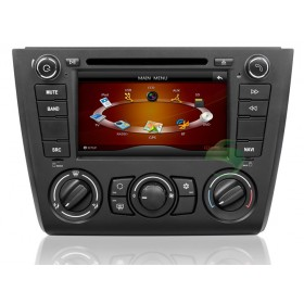 BMW E88 1 Series head unit DVD player GPS navigation system with Radio Bluetooth TV Ipod-1