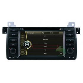 Car DVD player for BMW 3 Series E46 with gps radio tv bluetooth-1