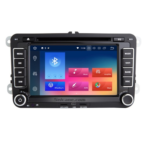 7 inch 2006-2012 VW VOLKSWAGEN MAGOTAN HD Touchscreen Radio Android 9.0 GPS Navigation with Bluetooth Music USB Audio Aux WIFI Mirror Link Steering wheel control