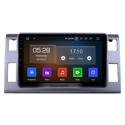 10.1 inch For 2006 Toyota Previa/Estima/Tarago Radio Android 10.0 GPS Navigation System Bluetooth HD Touchscreen Carplay support OBD2
