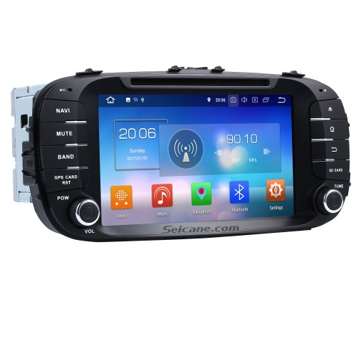 8 Inch 2014 KIA SOUL Android 8 0 GPS Radio Bluetooth DVD Player HD
