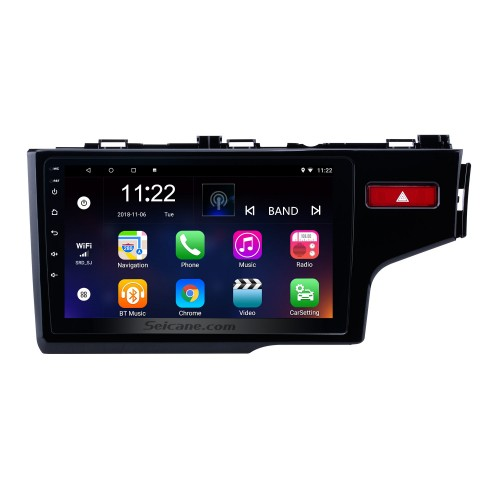 10.1 Inch Android 8.1 1024*600 2014 2015 HONDA JAZZ/FIT (RHD) Radio Bluetooth Touch Screen GPS Navigation Car Stereo Mirror Link Steering Wheel Control 1080P DAB+