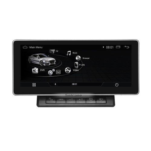 10.25 Inch Android 4.4 2004-2008 AUDI A4 Car Radio Stereo Head Unit GPS Navigation System Bluetooth Support USB WIFI Rearview Camera Steering Wheel Control