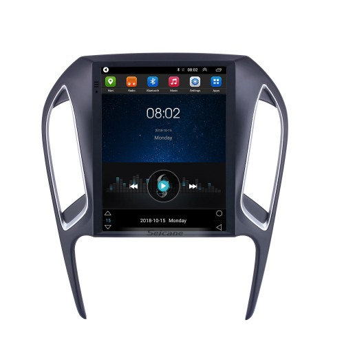 For 2016 2017 2018 Chery Arrizo 5 Radio 9.7 inch Android 9.1 GPS Navigation with HD Touchscreen Bluetooth support Carplay Rear camera