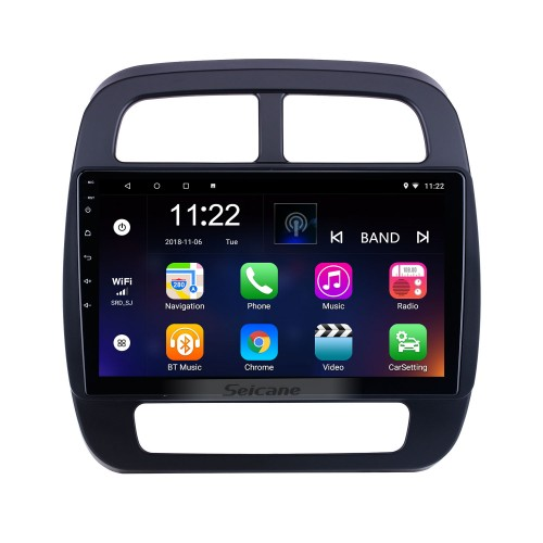 HD Touchscreen 10.1 inch Android 10.0 for 2019 Renault City K-ZE Radio GPS Navigation System with Bluetooth support Carplay DVR
