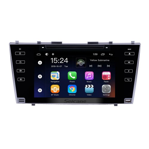 OEM 8 inch Android 9.0 for 2007 2008 2009 2010 2011 Toyota Camry Radio Bluetooth HD Touchscreen GPS Navigation System support Carplay