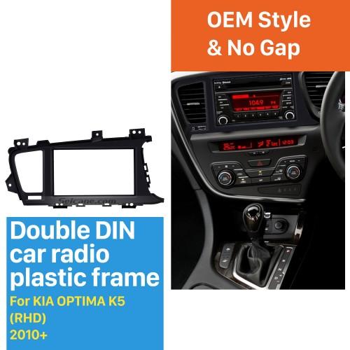 Great Double Din 2010+ KIA OPTIMA K5 Right Hand Drive Car Radio Fascia Audio Frame Dash Mount Trim Installation
