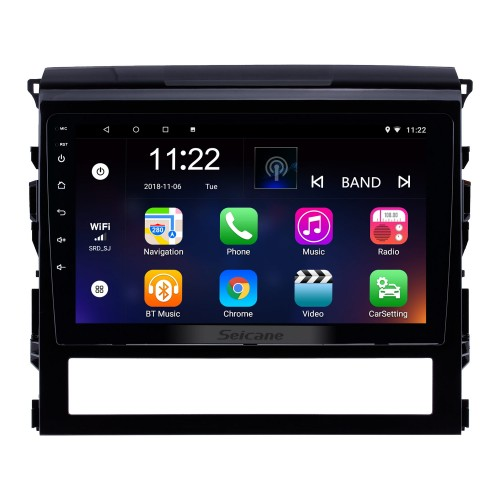 9 Inch Android 8.1 Touch Screen radio Bluetooth GPS Navigation system For 2016 Toyota Land Cruiser 200 support TPMS DVR OBD II USB SD 3G WiFi Rear camera Steering Wheel Control HD 1080P Video AUX