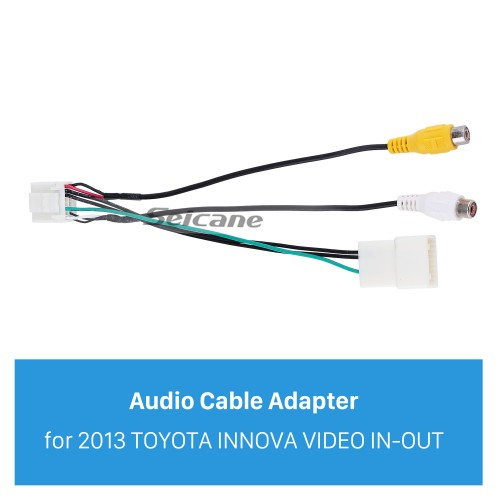 High-quality Auto Car VIDEO IN-OUT Audio Video Cable for 2013 TOYOTA INNOVA