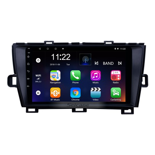 2009-2013 Toyota Prius LHD Android 8.1 HD Touchscreen 9 inch AUX Bluetooth WIFI USB GPS Navigation Radio support SWC Carplay