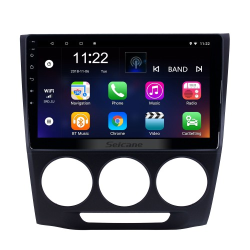 10.1 inch Android 8.1 GPS Navigation Radio for 2013-2019 Honda Crider Manual A/C With HD Touchscreen Bluetooth support Carplay TPMS