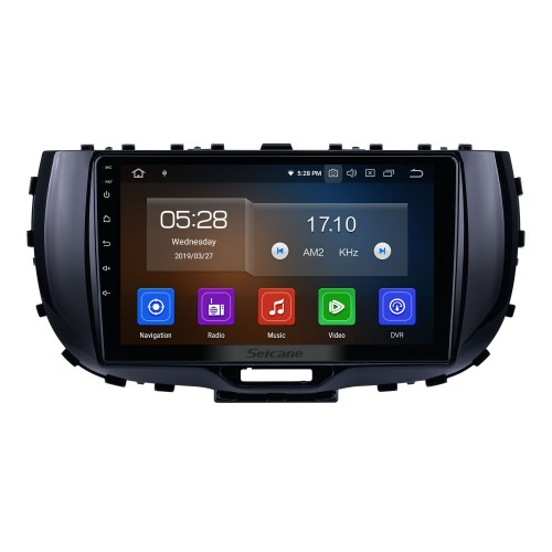 HD Touchscreen 9 inch for 2019 Kia Soul Radio Android 10.0 GPS Navigation System Bluetooth Carplay support DSP Backup camera