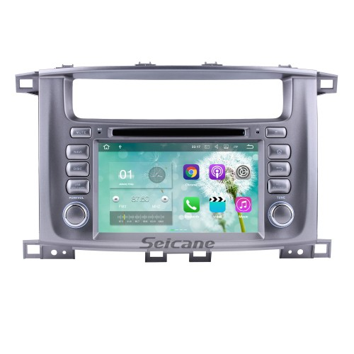 1998-2004 Toyota Lander Cruiser 100 Android 5.1.1 GPS Radio navigation system with WIFI Bluetooth DVD player HD touch screen OBD DVR Backup camera TV 3G IPOD Mirror link IPOD USB SD 16G Flash Quad-core CPU