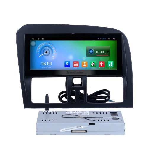 Android 7.1 2009-2017 Volvo XC60 CD Radio GPS Navigation Stereo Bluetooth Music DVD Player 3G WiFi TV Tuner DVR Steering Wheel Control USB DVR Backup Camera