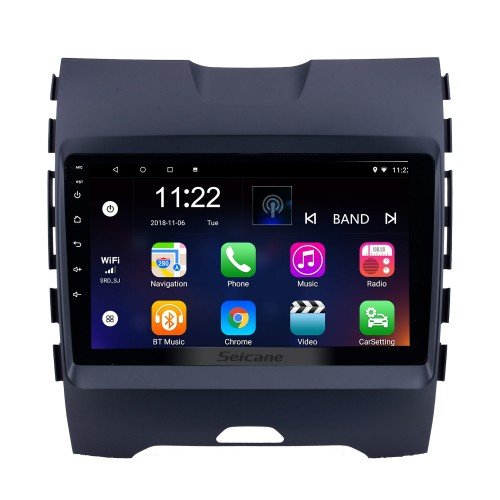9 inch Android 8.1 2013 2014 2015 2016 2017 Ford Edge Radio GPS Navigation System with HD Touch Screen Bluetooth 3G WIFI support Backup Camera TPMS Steering Wheel Control Mirror link OBD2 DVR