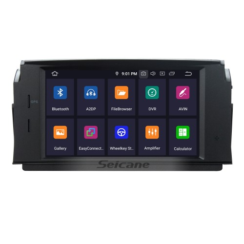 Android 5.1.1 DVD Player GPS Navigation System 2007-2011 Mercedes-Benz C Class W204 C180 C200 C230 C30  with Steering Wheel Control Mirror Link Bluetooth Wifi Backup Camera OBD2 DAB DVR