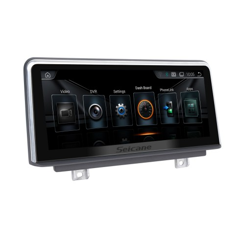 10.25 Inch Android 10.0 HD Touchscreen 2013-2016 BMW 3 Series F30/F31/F34/F35 Aftermarket Radio Head Unit Car Stereo GPS Navigation System Bluetooth Phone Support WIFI Steering Wheel Control Rearview Camera