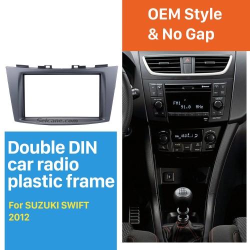 Popular Double Din 2012 Suzuki Swift Car Radio Fascia Autostereo Panel Kit Fitting Frame DVD Player