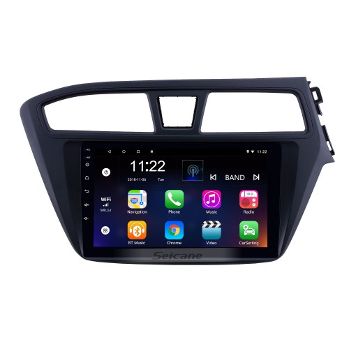 2014-2017 Hyundai i20 RHD 9 inch Android 8.1 HD Touchscreen Bluetooth Radio GPS Navigation Stereo USB AUX support Carplay 3G WIFI Mirror Link