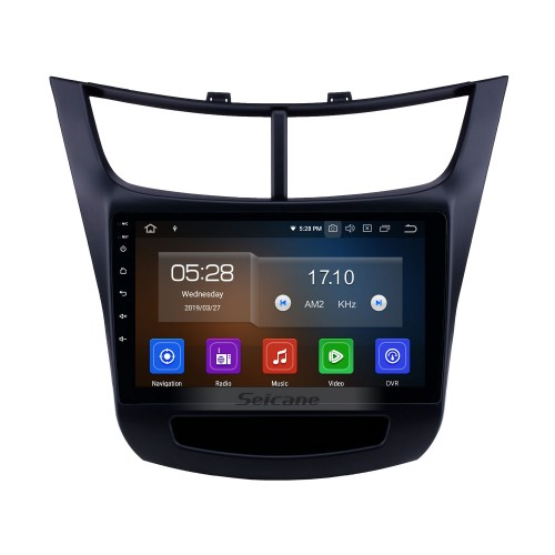 Android 9.0 9 inch GPS Navigation Radio for 2015-2016 Chevy Chevrolet New Sail with HD Touchscreen Carplay Bluetooth WIFI USB AUX support DVR Mirror Link