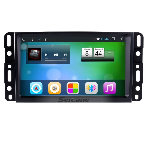 Android 8.1 2007 2008 2009 2010 2011 2012 2013 Chevrolet Chevy Tahoe 9 Inch HD Touchscreen Car Stereo Radio Head Unit GPS Navigation Bluetooth Phone MP3 Steering Wheel Control WIFI Backup Camera