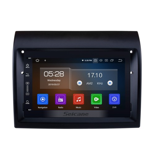 Android 10.0 7 inch HD Touchscreen Radio GPS Navigation Head unit for 2007-2016 Fiat Ducato/Peugeot Boxer with Bluetooth music Wifi USB Steering Wheel Control support Rearview Camera DVR DVD Player 1080P Video