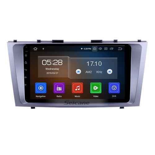 9 inch Android 10.0 GPS Radio Bluetooth Stereo Navigation DVD player For 2007 2008 2009 2010 2011 TOYOTA CAMRY with HD Touchscreen WIFI Steering Wheel Control